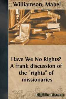 Have We No Rights?