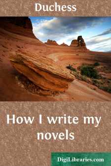 How I write my novels