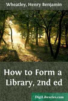 How to Form a Library, 2nd ed
