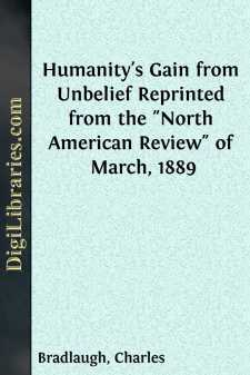 Humanity's Gain from Unbelief Reprinted from the