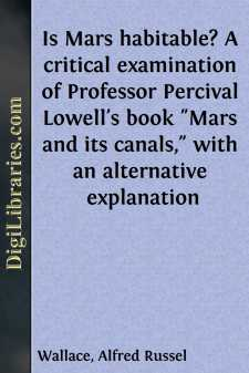 Is Mars habitable? A critical examination of Professor Percival Lowell's book