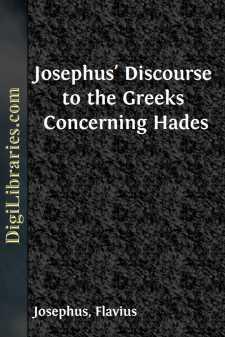 Josephus' Discourse to the Greeks Concerning Hades