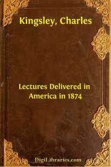 Lectures Delivered in America in 1874