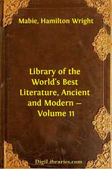 Library of the World's Best Literature, Ancient and Modern - Volume 11
