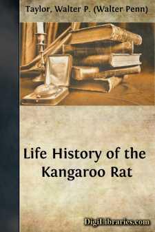 Life History of the Kangaroo Rat