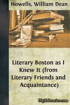 Literary Boston as I Knew It (from Literary Friends and Acquaintance)