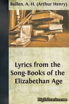 Lyrics from the Song-Books of the Elizabethan Age