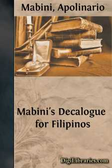 Mabini's Decalogue for Filipinos