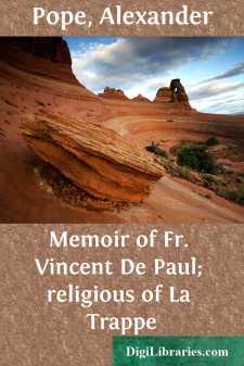 Memoir of Fr. Vincent De Paul; religious of La Trappe