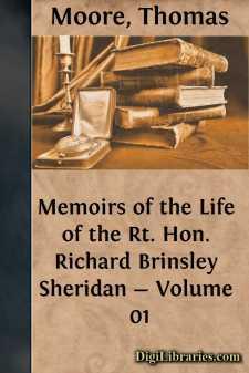 Memoirs of the Life of the Rt. Hon. Richard Brinsley Sheridan - Volume 01