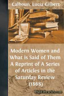Modern Women and What is Said of Them