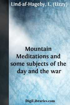 Mountain Meditations and some subjects of the day and the war