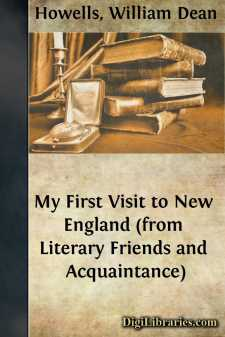 My First Visit to New England (from Literary Friends and Acquaintance)