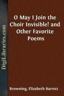 O May I Join the Choir Invisible!