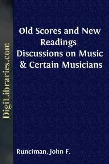 Old Scores and New Readings 
