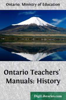 Ontario Teachers' Manuals: History