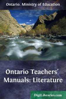 Ontario Teachers' Manuals: Literature