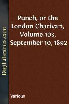 Punch, or the London Charivari, Volume 103, September 10, 1892
