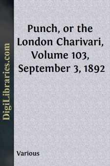 Punch, or the London Charivari, Volume 103, September 3, 1892