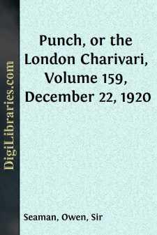 Punch, or the London Charivari, Volume 159, December 22, 1920