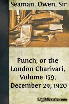 Punch, or the London Charivari, Volume 159, December 29, 1920