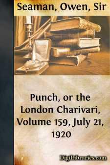 Punch, or the London Charivari, Volume 159, July 21, 1920