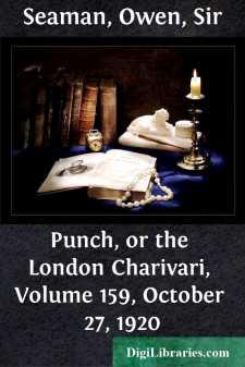 Punch, or the London Charivari, Volume 159, October 27, 1920