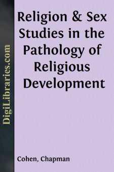Religion & Sex Studies in the Pathology of Religious Development