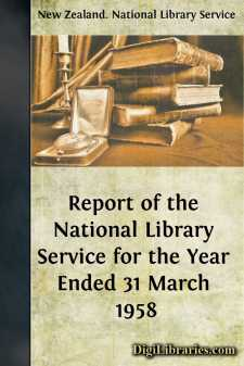 Report of the National Library Service for the Year Ended 31 March 1958