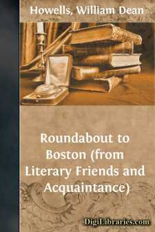 Roundabout to Boston (from Literary Friends and Acquaintance)