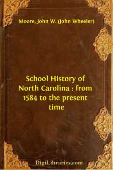 School History of North Carolina : from 1584 to the present time