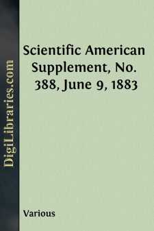 Scientific American Supplement, No. 388, June 9, 1883
