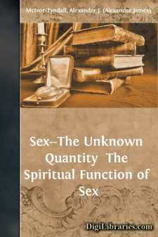 Sex--The Unknown Quantity 
