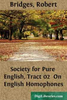 Society for Pure English, Tract 02 