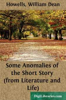Some Anomalies of the Short Story (from Literature and Life)
