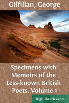 Specimens with Memoirs of the Less-known British Poets, Volume 1