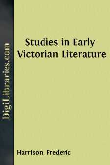 Studies in Early Victorian Literature