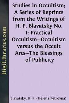 Studies in Occultism; A Series of Reprints from the Writings of H. P. Blavatsky