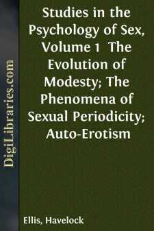 Studies in the Psychology of Sex, Volume 1 