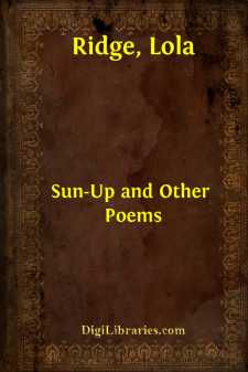 Sun-Up and Other Poems