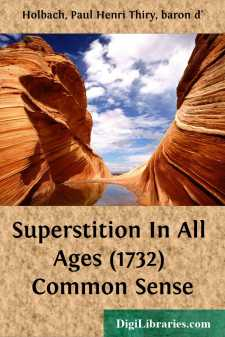 Superstition In All Ages (1732) Common Sense