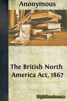 The British North America Act, 1867