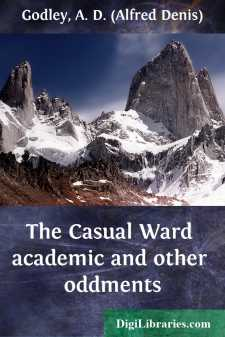 The Casual Ward academic and other oddments