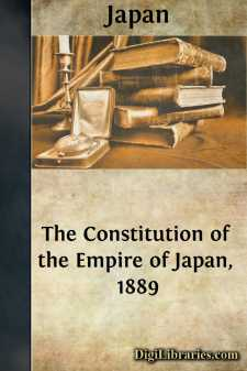 The Constitution of the Empire of Japan, 1889