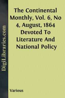 The Continental Monthly, Vol. 6, No 4, August, 1864