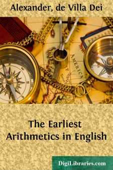 The Earliest Arithmetics in English
