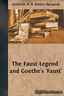The Faust-Legend and Goethe's 'Faust'
