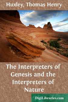 The Interpreters of Genesis and the Interpreters of Nature