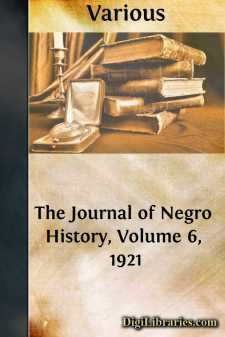 The Journal of Negro History, Volume 6, 1921