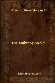 The Mabinogion Vol. 3